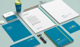 logo e immagine coordinata per progetto di social housing