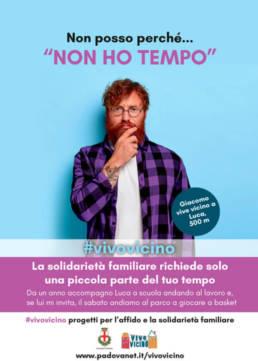 campagna affissioni affido Padova