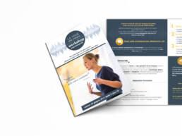 grafica brochure per workshop